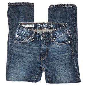 Gap Kids Fade Wash Straight Leg Jeans Slim 6